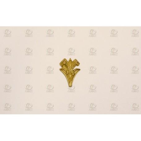 Amati 5352.14 Dekoration, metall, mått 15 x 12 mm, 10 st