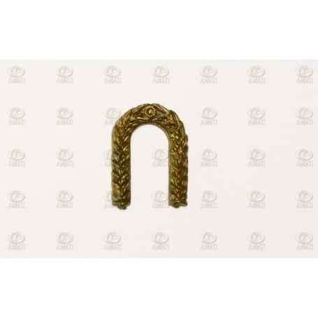 Amati 5354.01 Dekoration, metall, mått 20 x 15 mm, 2 st