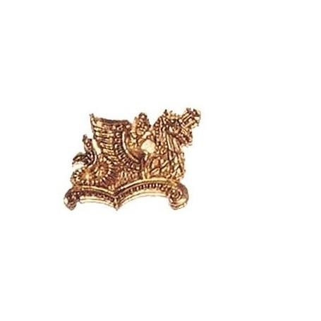 Amati 5358.02 Dekoration, metall, mått 40 x 27 mm, 1 st