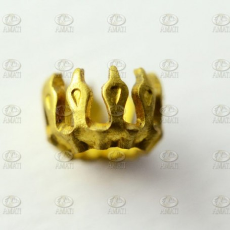 Amati 5530.08 Dekoration, metall, mått 8 x 4 mm, 10 st