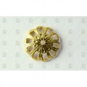 Amati 5530.23 Dekoration, metall, mått 10 mm diameter, 20 st