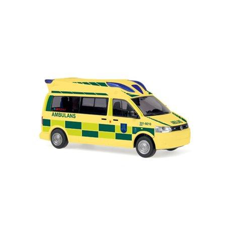 """Rietze 53602 VW T5 Ambulans Mobile Hornis Baltic """"Ambulans Stockholm"""""""