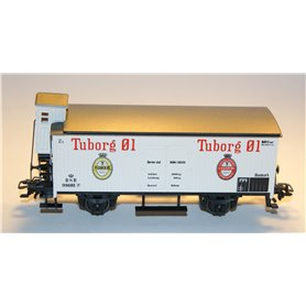 "Märklin 4680.93003 Godsvagn med bromskur 99601 typ DSB ""Tuborg Öl"""