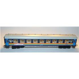 """Märklin 4118 Personvagn 2:a klass 51 88 50-80 506-1 """"Railtour"""" typ NMBS"""