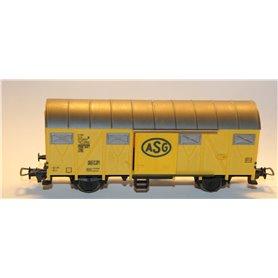 """Fleischmann 5332 Godsvagn med skjutdörrar 012 0002-7 typ SJ """"ASG"""""""