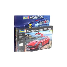 "Revell 67100 Model Set Mercedes Benz SLS AMG ""Gift Set"""