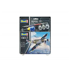 "Revell 63897 Model Set Flygplan Supermarine Spitfire Mk.Vb ""Gift Set"""