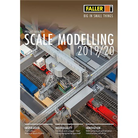 Media KAT481 Faller Katalog 2019/20, engelska