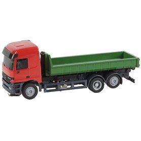 Faller 161481 Lorry MB Actros LH'96 Roll-off Container (HERPA), med drivning för Faller Car System