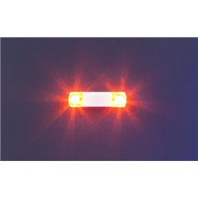 Faller 163760 Flashing lights, 13.5 mm, orange