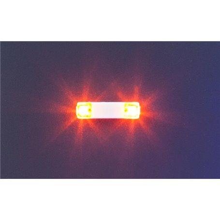 Faller 163760 Flashing lights, 13.5 mm, orange