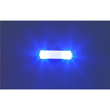 Faller 163761 Flashing lights, 13.5 mm, blue