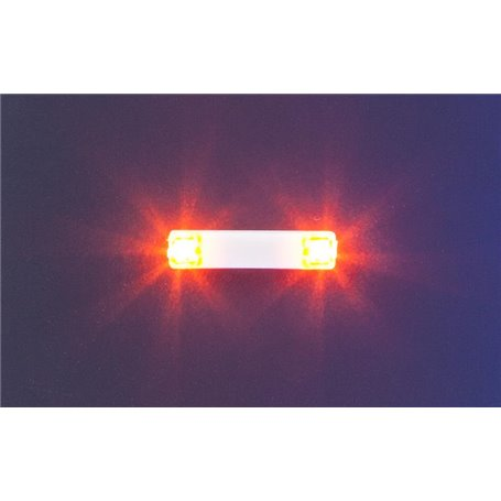 Faller 163762 Flashing lights, 15.7 mm, orange