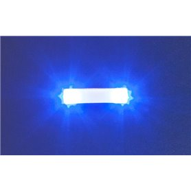 Faller 163763 Flashing lights, 15.7 mm, blue