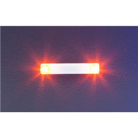 Faller 163764 Flashing lights, 20.2 mm, orange