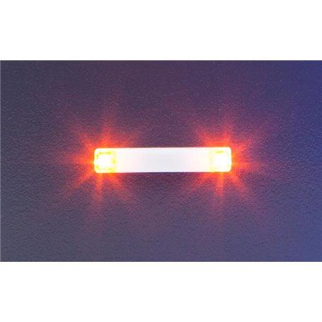 Faller 163764 Flashing lights, 20.2 mm, orange