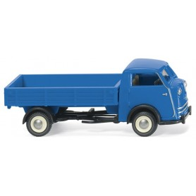 Wiking 33501 Tempo Matador high-side flatbed - blue