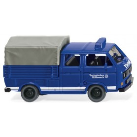 Wiking 29307 THW - VW T3 crew cab