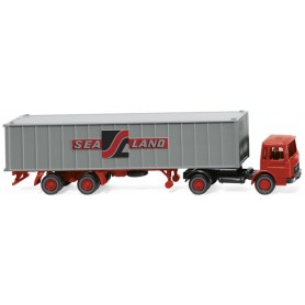 Wiking 52304 Container semi-trailer (MAN) 'Sealand'