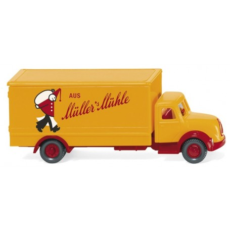 Wiking 94905 Box truck (Magirus) 'Müllers Mühle'