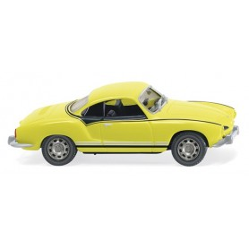 Wiking 80509 VW Karmann Ghia Coupé yellow|black