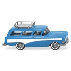 Wiking 07001 Opel Caravan '57 light blue|white