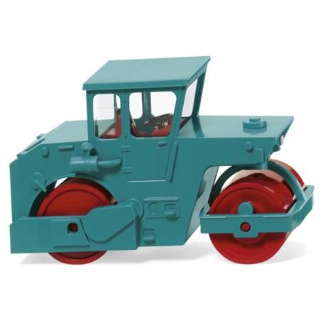 Wiking 65005 road roller (ABG) - water blue