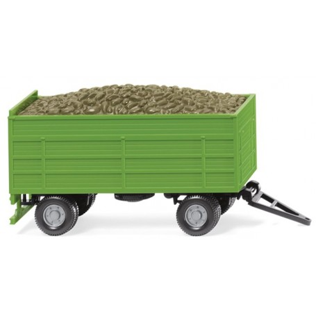 Wiking 38815 Beet trailer - green