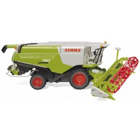 Wiking 38914 Claas Lexion 760 combine harvester with V 1050