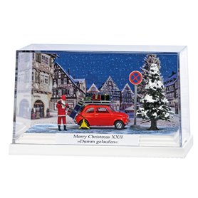Busch 7653 Lifelike scene »Merry Christmas XXII«