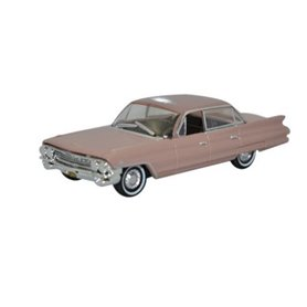 Oxford Models 124172 Cadillac Sedan Deville 1961 Topaz Metallic