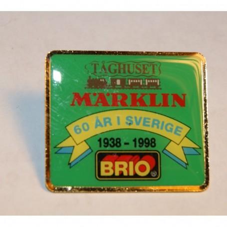 Märklin PIN2 Märklin Pin 'Brio 60 år i Sverige 1938-1998'