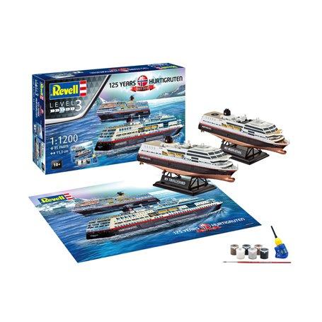 """Revell 05692 Hurtigruten """"125th Anniversary """"Gift Set"""""""