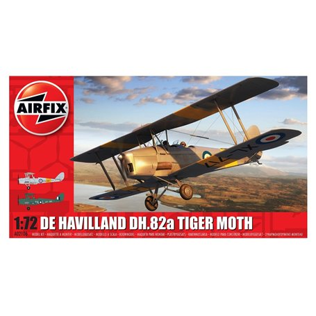 Airfix 02106 Flygplan De Havilland DH.82a Tiger Moth