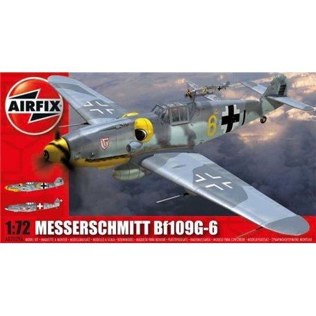 Airfix 02029 Flygplan Messerschmitt BF109 G-6