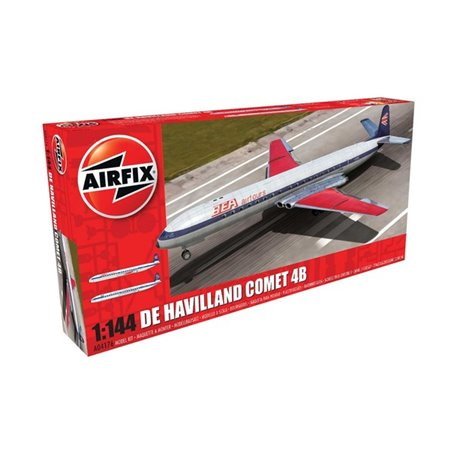 Airfix 04176 Flygplan De Havilland Comet 4B
