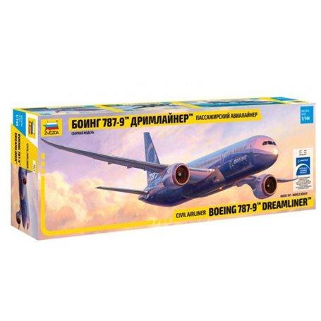 """Zvezda 7021GG Flygplan Boeing 787-9 Dreamliner """"Norwegian"""""""