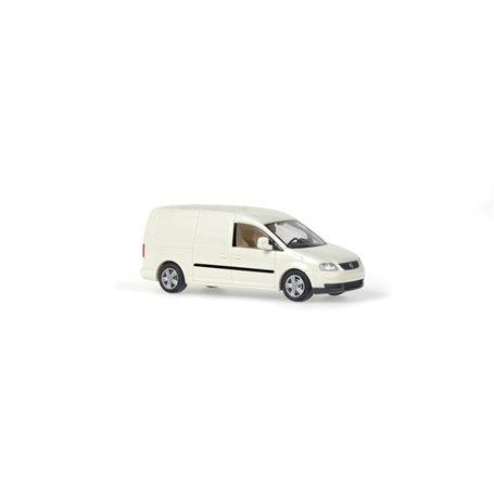 Rietze 11800 VW Caddy Maxi Skåp 2007, krämvit
