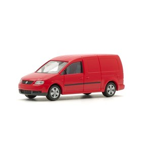 Rietze 11800.1 VW Caddy Maxi Skåp 2007, röd