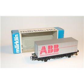 """Märklin 4481.91705 Godsvagn """"ABB - Asea Brown Boveri"""""""