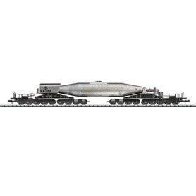 "Trix 15553 Torpedovagn ""Krupp"" typ DB, vädrad"