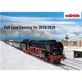 Märklin 15762 Märklin Katalog för 2018/2019 Engelska