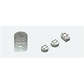 ESU 50341 Speaker set, Single 11x15mm, Modular Soundbox kit for 20mm, 23mm, 16x25mm