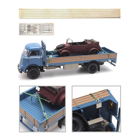 Artitec 387351 Set med hakar, spännband m.m.