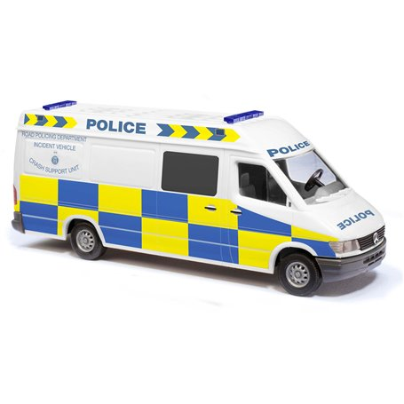 "Busch 47853 Mercedes Benz Sprinter ""Police England"" Crash Support Unit"