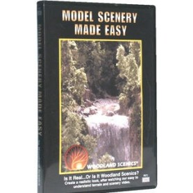 "Woodland Scenics R973 DVD ""Model Scenery Made Easy"" Lär dig bygga landskap m.m."