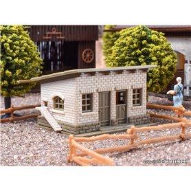 Vollmer 47709 Godsskjul med staket