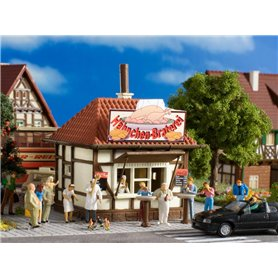 Vollmer 45139 Kiosk 'Hühner-Hugo