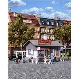 """Vollmer 45151 Liten restaurant/uteservering """"Ützelbrützel Döner Kebap & Pizza"""""""