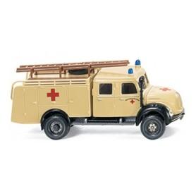 "Wiking 86502 Magirus DRK ""Röda Korset""'"